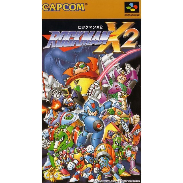 RockMan X2 (Game only)