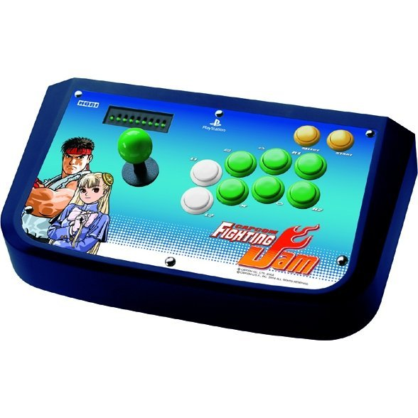 Capcom Fighting Jam Real Arcade Pro Stick