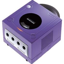 Game Cube Console - Purple/Indigo
