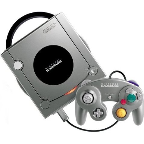 Game Cube Console - Silver/Platinum