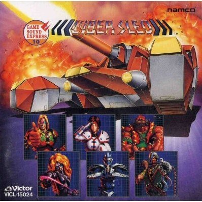 Namco Game Sound Express Vol.10 Cyber Sled
