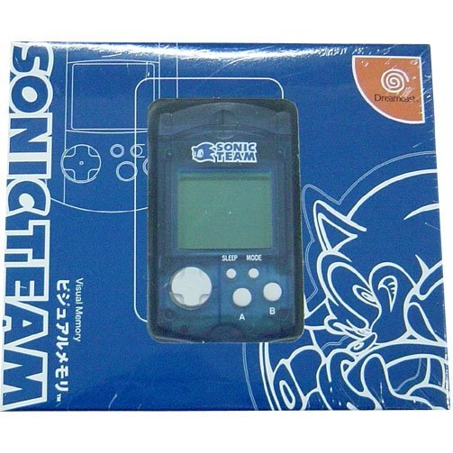 Dreamcast Visual Memory Card VMS/VMU (Sonic Team Design)