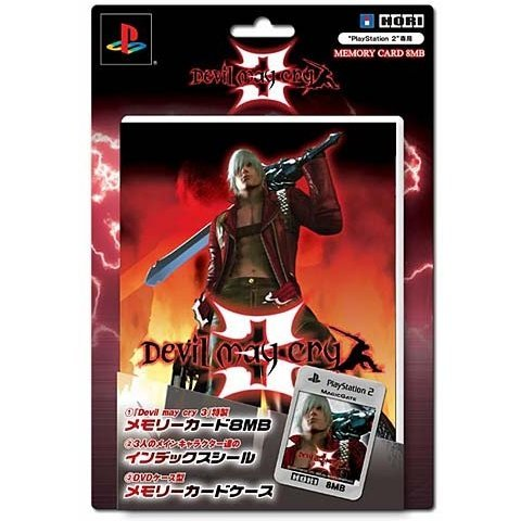 Devil May Cry 3 Memory Card 8MB