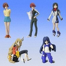 Soukyuu no Fafner Collection 2 Gashapon (full set)