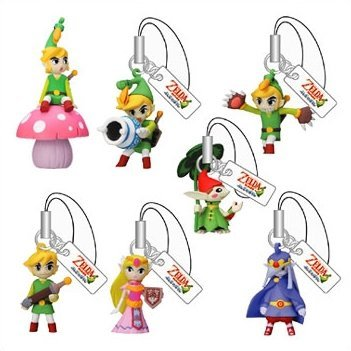 the legend of minish cap figure gashapon