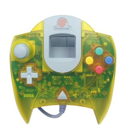 Dreamcast Control Pad (clear yellow)