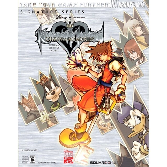 BradyGames Kingdom Hearts Chain of Memories Official Strategy Guide