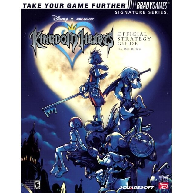 BradyGames Kingdom Hearts Official Strategy Guide
