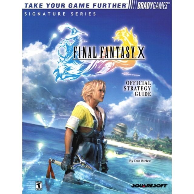 BradyGames Final Fantasy X Official Strategy Guide