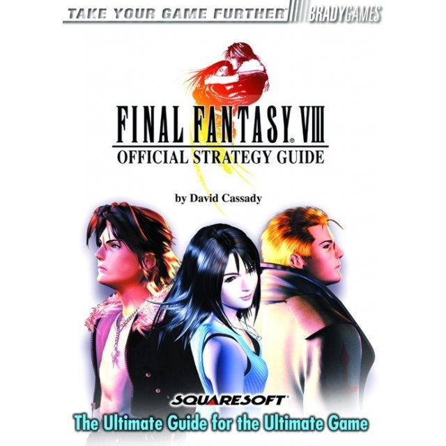 BradyGames Final Fantasy VIII Official Strategy Guide