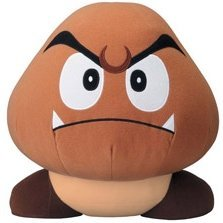 Super Mario Bros. DX Plush Doll: Goomba (large)