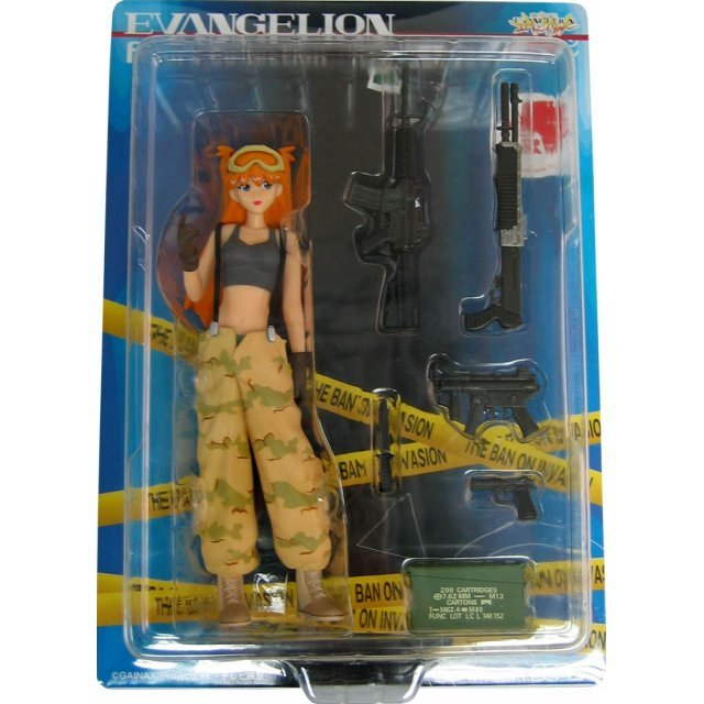 Neon Genesis Evangelion Figure Collection: Special Work Instruction #1 - Asuka Langley