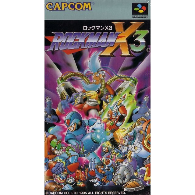 RockMan X3 (Game only)