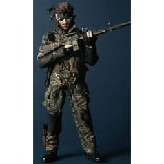 Real Action Heroes - Snake (Snake Camouflage Ver.)