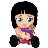 From TV Animation ONE PIECE Plush Doll Mini Map Style - Model D: Nico Robin