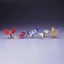 Dragon Drive Real Collection Gashapon (full set)