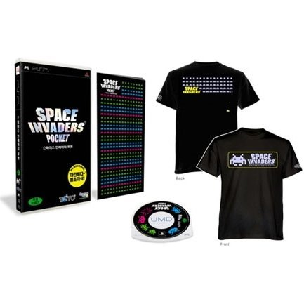 Space Invaders Pocket (w/ T-Shirt: Size L)