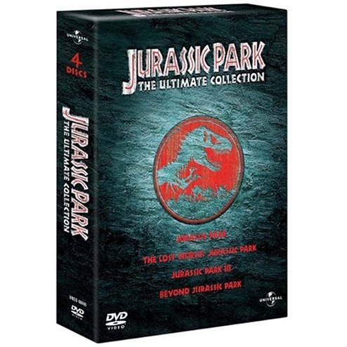 Jurassic Park Trilogy Box