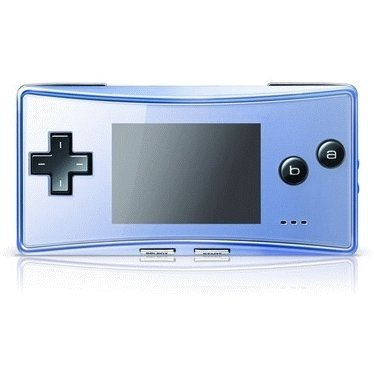 Game Boy Micro Console - blue (110V)