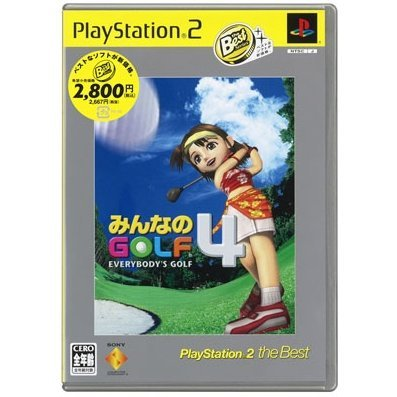 Everybody's Golf 4 /  Minna no Golf 4 (PlayStation2 the Best)