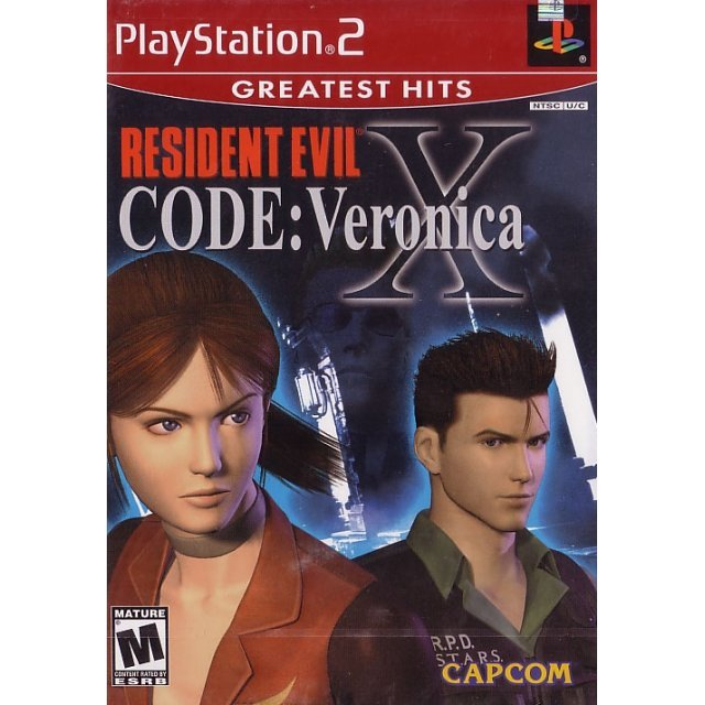 Resident Evil Code: Veronica X (Greatest Hits)