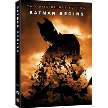 Batman Begins: 2 Disc Deluxe Edition + Comic Book