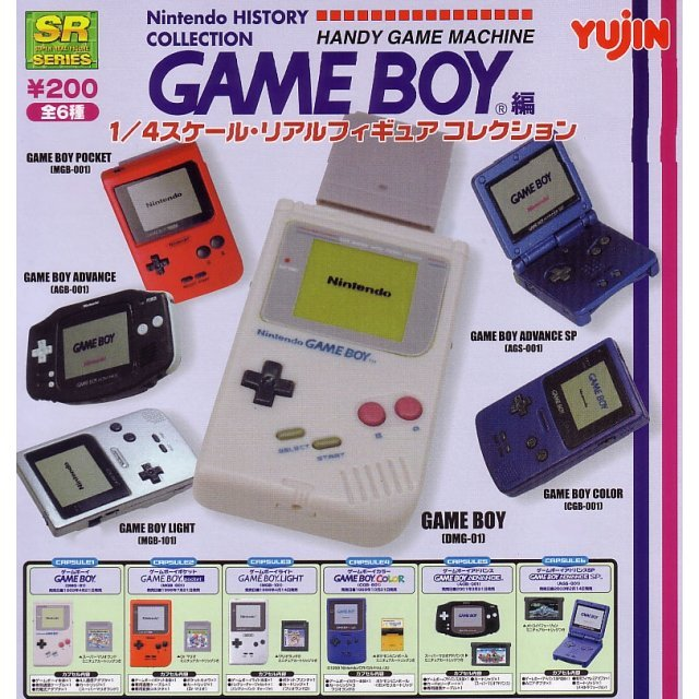 Nintendo History Collection Handy Game Machine Game Boy Gashapon