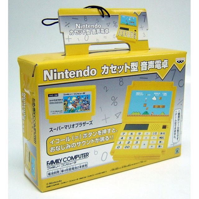 Famicom Cassette Calculator: Super Mario Bros. Version