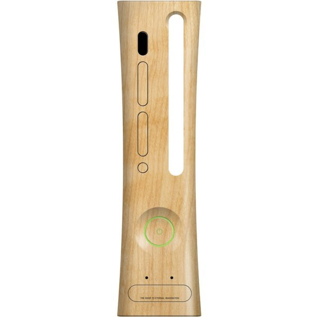 Xbox 360 Faceplate (Wood)