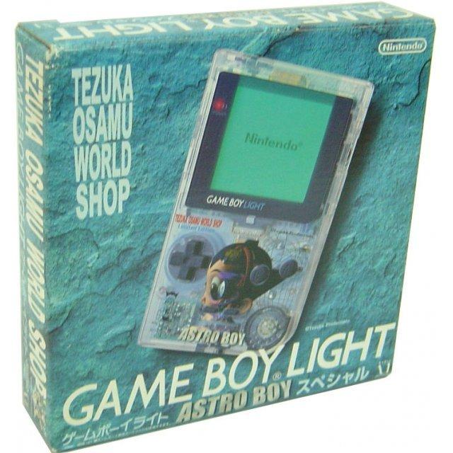 Game Boy Light Console - Astro Boy clear Special Edition