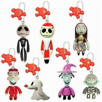 Tim Burton's The Nightmare before Christmas Swing Keychain Gashapon