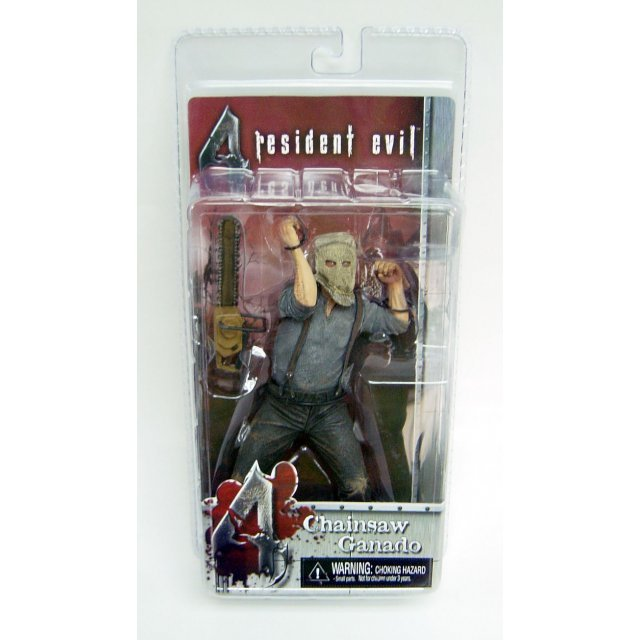 Resident Evil 4 Action Figure: Chainsaw Ganado
