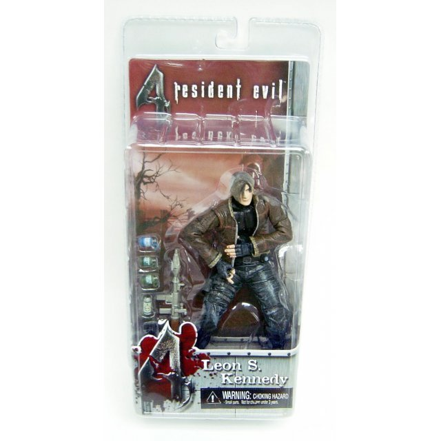 Resident Evil 4 Action Figure: Leon S. Kennedy (Jacket Version)
