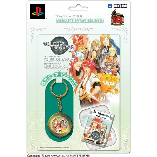 Tales of the Abyss Memory Card 8MB