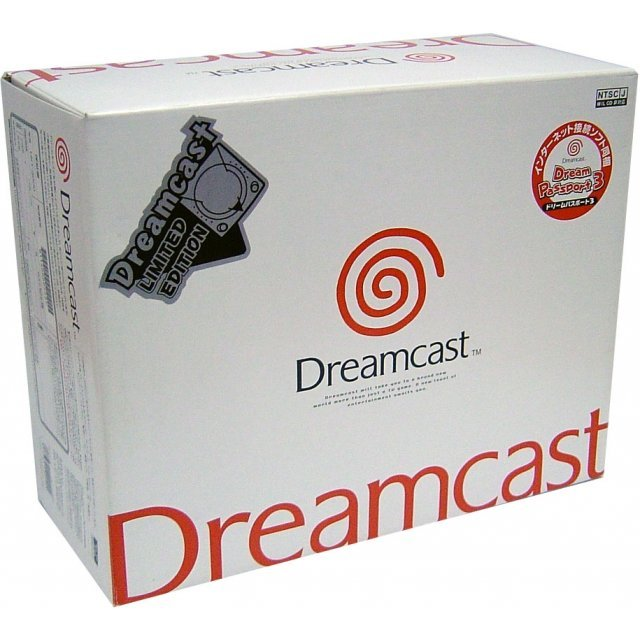 Dreamcast Console - D-Direct Silver Special Edition (Japanese version)