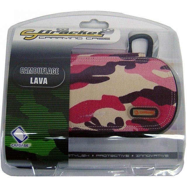 Capdase S-Bracket Carrying Camouflage Case (Lava)