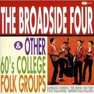 The Broadside Four & 60 Collage Folk Collection