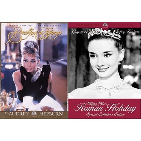Audrey Hepburn Elegant Pack: Roman Holiday + Breakfast at Tiffany's [Limited Pressing]