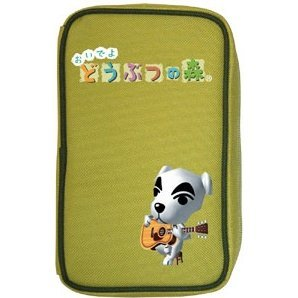 Deluxe Pouch DS Animal Crossing (green)