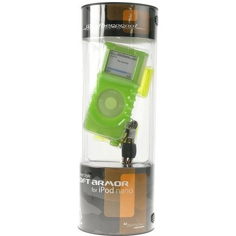 Capdase Soft Armor (Solid Green/Yellow) iPod Nano