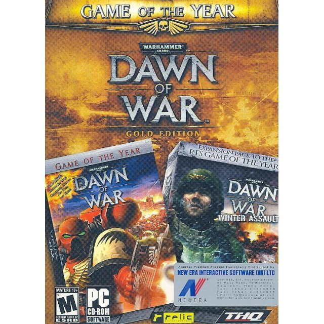 Warhammer 40,000 Dawn of War Gold Edition (DVD-ROM)