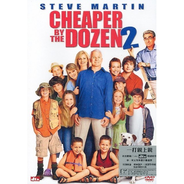 Cheaper By The Dozen II