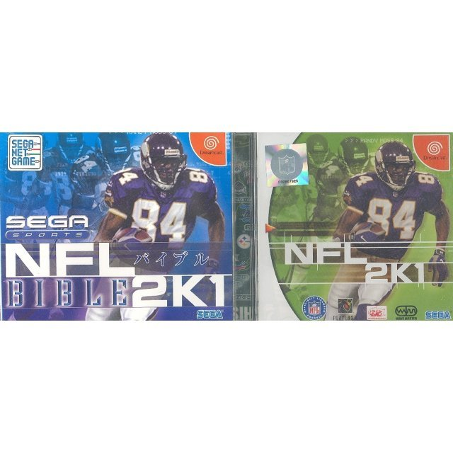NFL 2K1 + Bible (Limited Bundle Set)