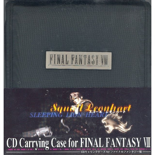 CD Carrying Case for Final Fantasy VIII