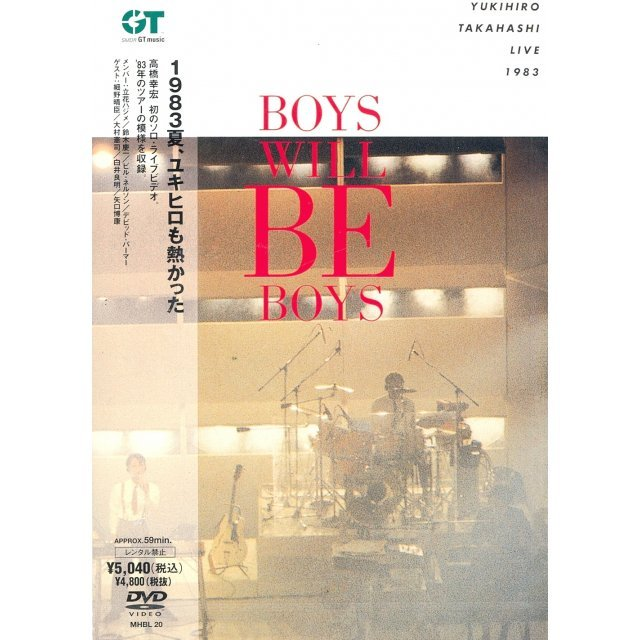 Yukihiro Takahashi Live 1983 Boys Will Be Boys