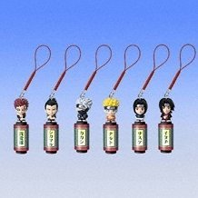 Naruto Fortune Battle Phone Strap Gashapon