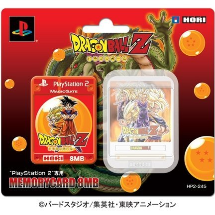 Dragon Ball Z Memory Card 8MB