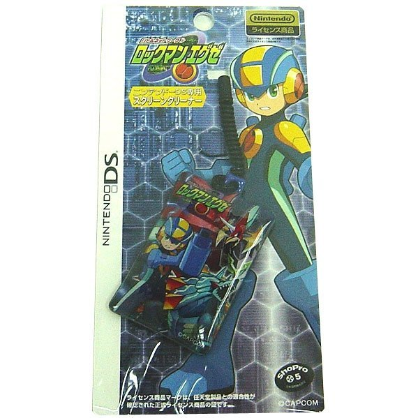 RockMan EXE / Mega Man Battle Network Screen Cleaning Strap - Rockman & Cyber Bease