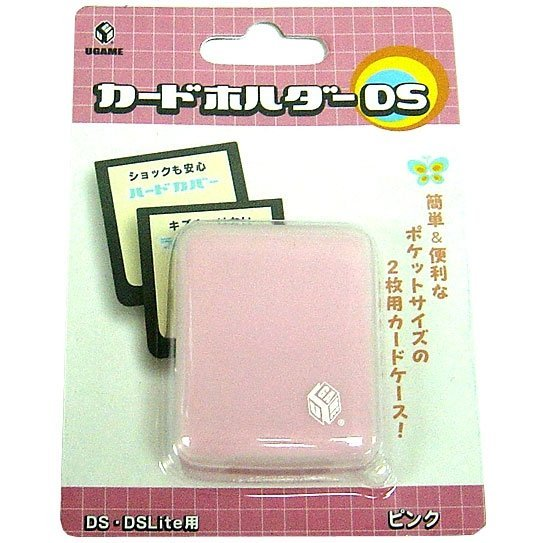 Card Holder Case DS - pink