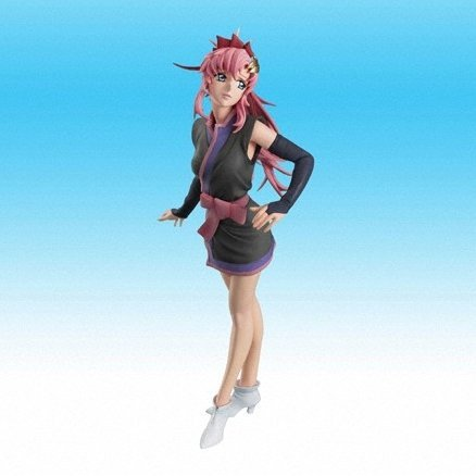 Mobile Suit Gundam Seed Destiny Voice Actor Speaking Figure - Rie Tanaka